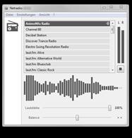 Netradio: Screenshot